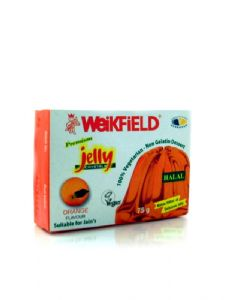 Vegetarian Jelly Crystals | Orange By Weikfield 75g
